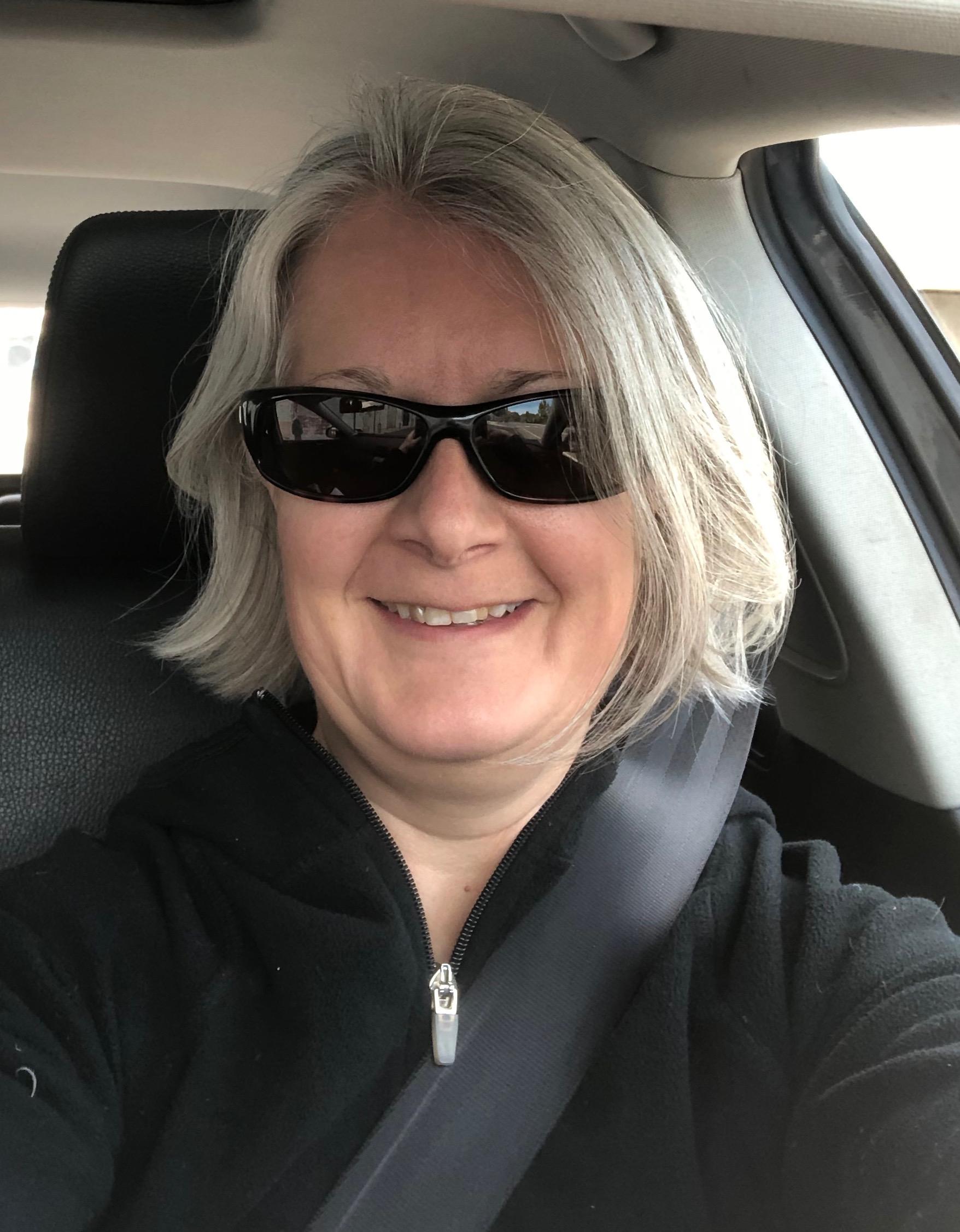 Headshot in the car