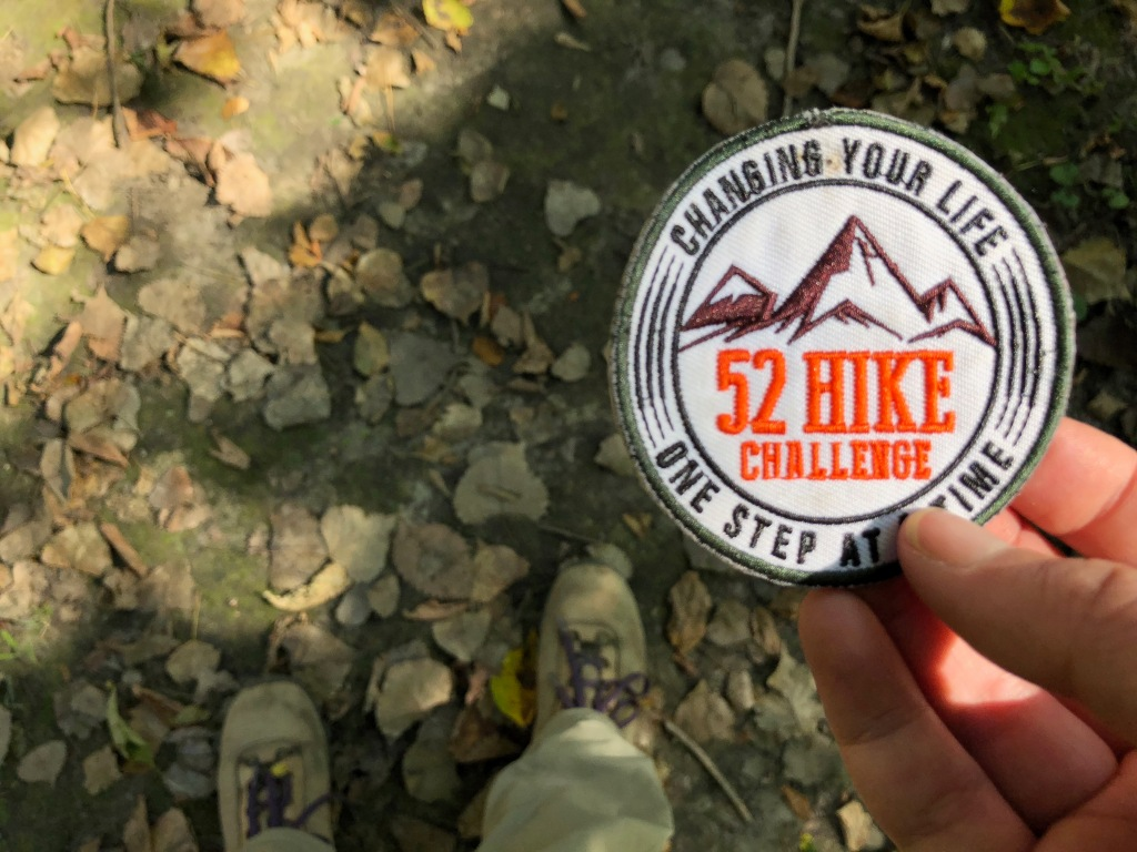 52 hike challenge patch